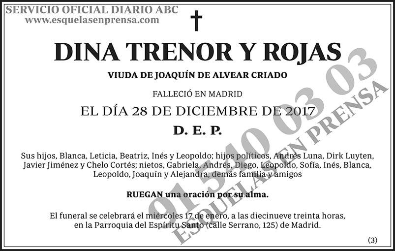 Dina Trenor y Rojas